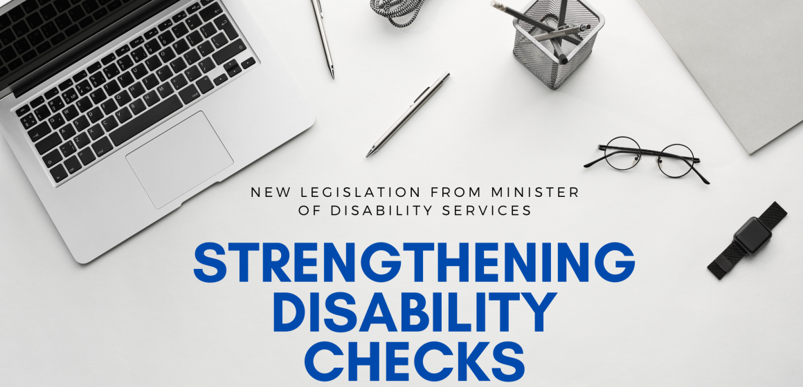 Strengthening disability checks
